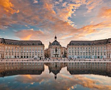 Vue sur la ville de Bordeaux