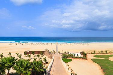 plage au Cap-Vert
