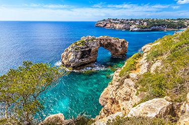 Vue sur mer à Majorque