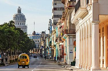 Vue sur une ruelle de la Havane