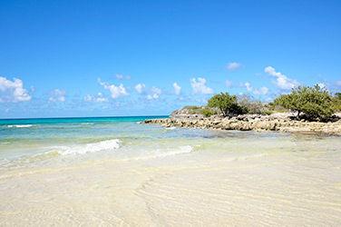 Vue sur l'île de Cayo Coco