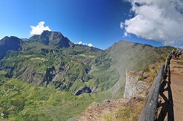 Paysage Île de la Réunion, le belvédère de Maïdo