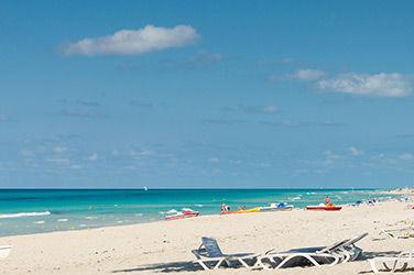 vue sur une plage à Cuba